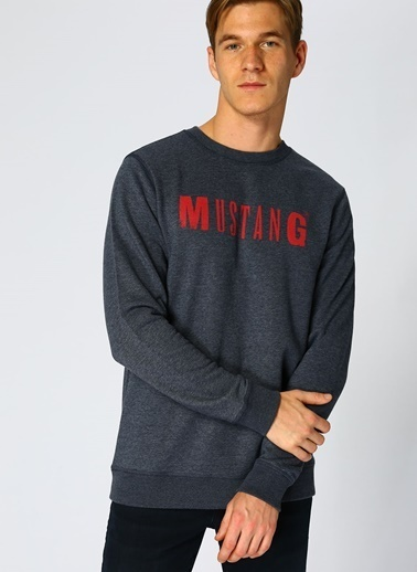 Mustang Sweatshirt İndigo
